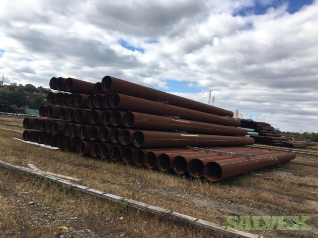 24 102.4# X65 Surplus Line Pipe (2,800 Feet)