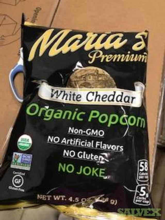 Maria's Organic Popcorn (1,248 Cases / 14,976 Units)