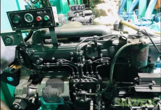 Isuzu UM6RBITCU2 Engine and Siyueh CH 200-56 Pump (2 Items)
