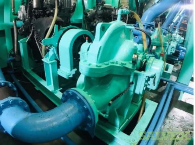 Isuzu UM6RBITCU2 Engine and Siyueh CH 200-56 Pump (2 Items)