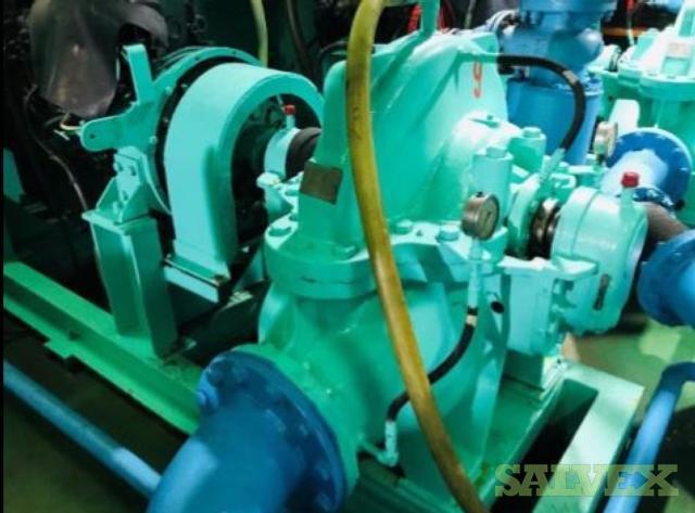 Isuzu 6WGITCH 6 Engine and Siyueh CH 200-56 Pump (2 Items)
