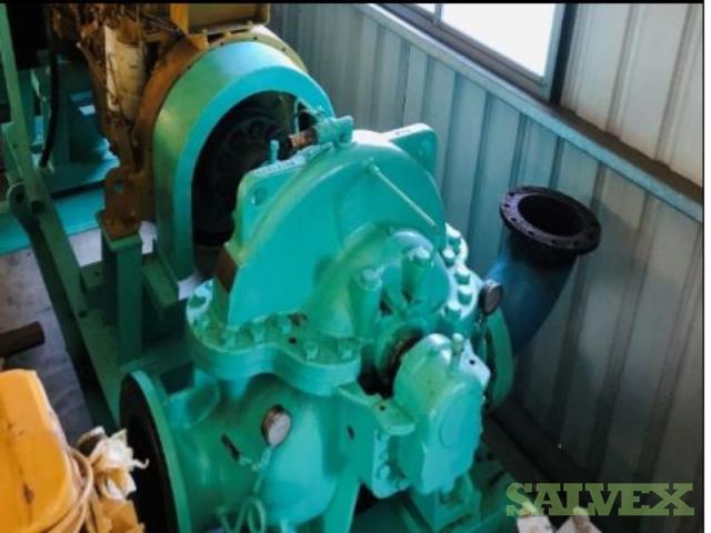 Komatsu SACD140B Engine and Siyueh CH200-56 Pump (2 Items)