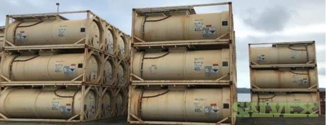 UN Portable T14 20ft ISO Tank Containers (107 Units)