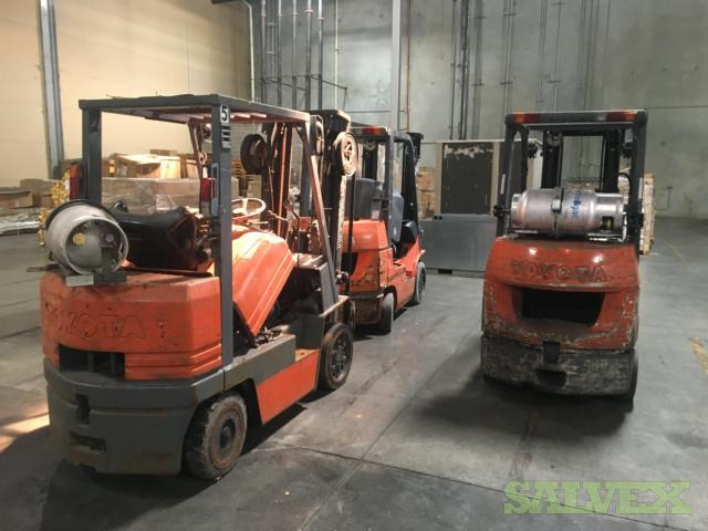 Toyota LP Forklifts (3 Units)
