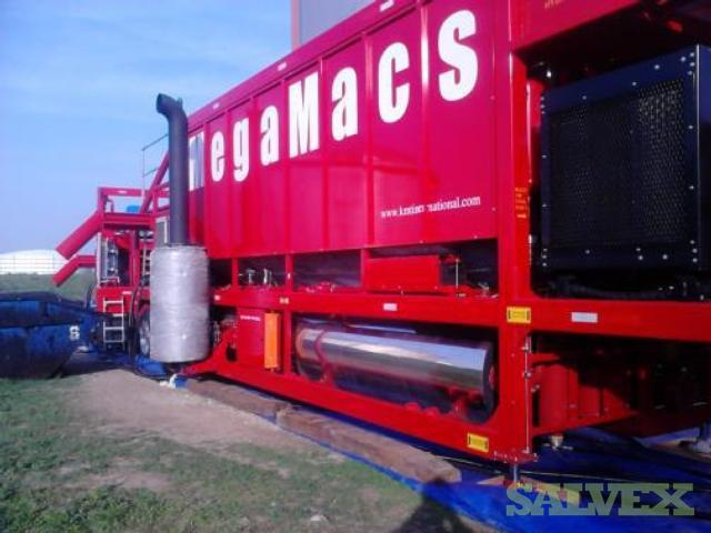 Mega MACS Mobile Plant and Equipment (For Oil Sludge Removal)