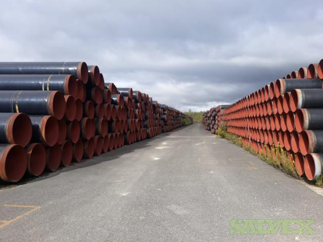 36 0.563WT X70 Surplus Line Pipe (223,766 Feet / 21,647 Metric Tons)