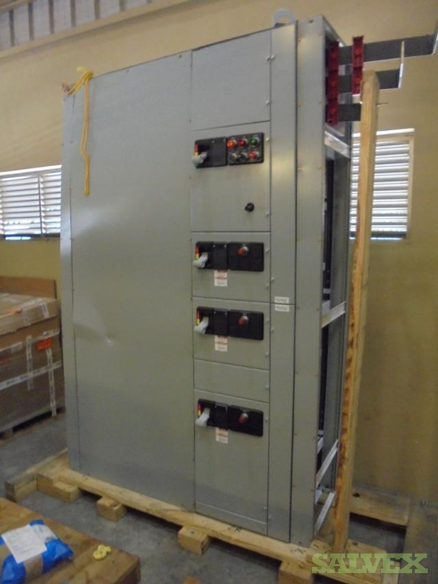 Eaton Freedom Series Motor Control Center (Damage)
