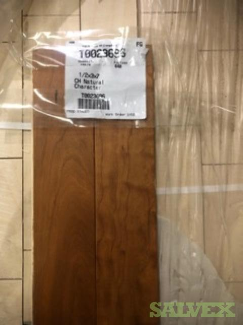 Hardwood Flooring: White Oak, Cherry, Solid Hickory (5522 / Sq ft)