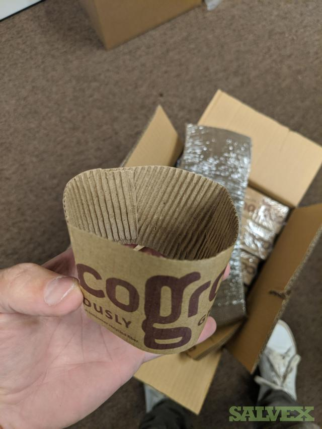 Paper Cup Sleeves (2,600 cases)