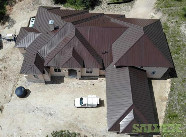 Hail Storm Damaged Standing Seam Metal Roofs - 204.8 SQ - 3 Locations in San Antonio (3 Units)