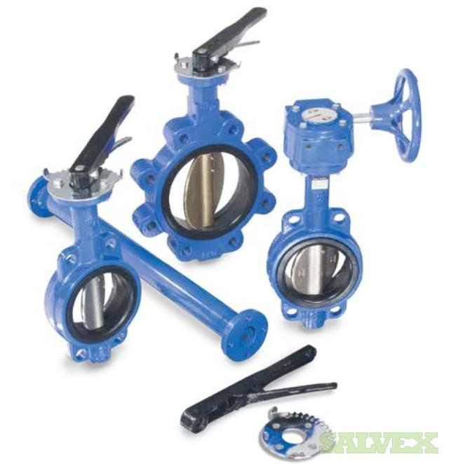Series 160 Iron Body Butterfly Valves (1,419 Units)
