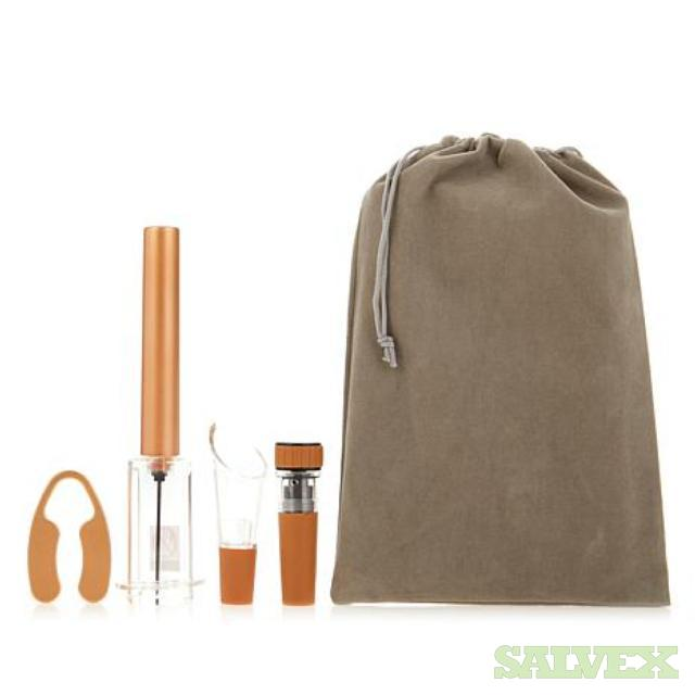 The Perfect Wine Opener 4-piece Sets with Storage Bags and Chillers (5,030 Units)