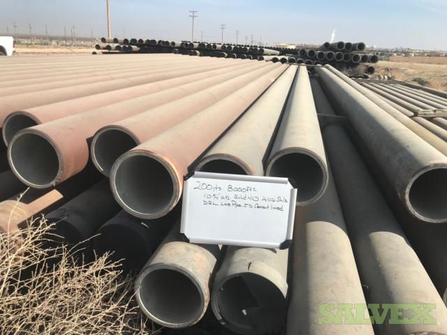 10 .365WT SMLS Surplus Line Pipe (8,000 Feet / 148.02 Metric Tons)