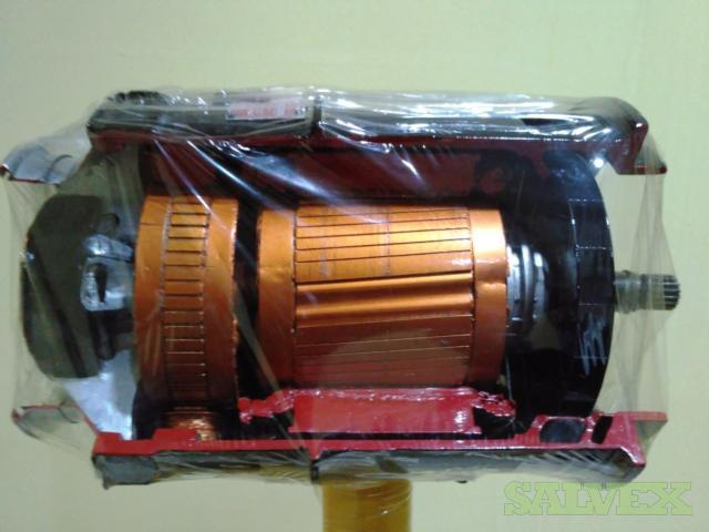 Aircraft Engine Parts: AC Generator, Pneumatic Engine Starter and Constant Speed Drive - for Training Displays (3 Items)