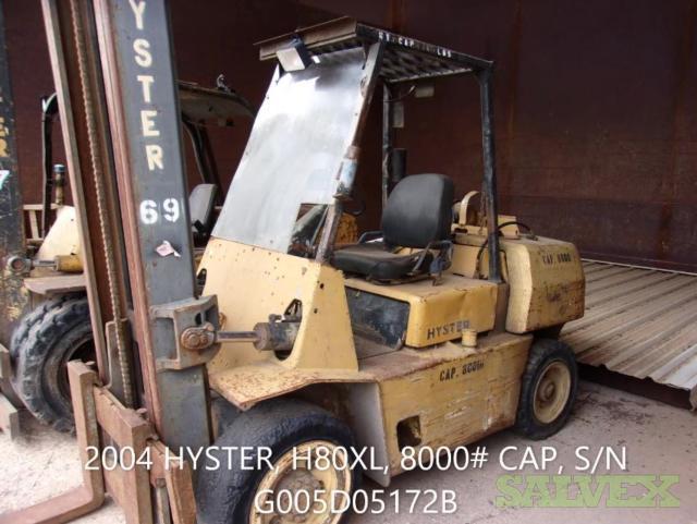 Hyster Forklift H80XL, 2004