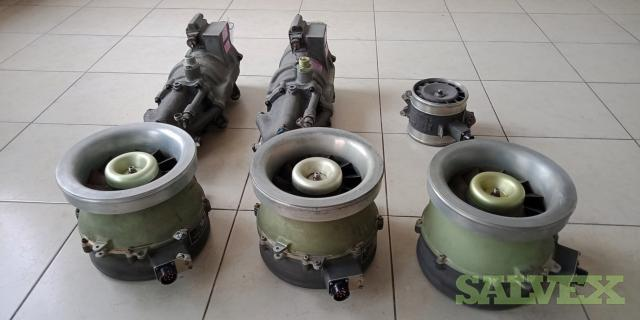 Boeing 747 Aircraft Spare Parts: Fan Axial Flow, Hyd Pump, Fan Air Cooling (6 Units)
