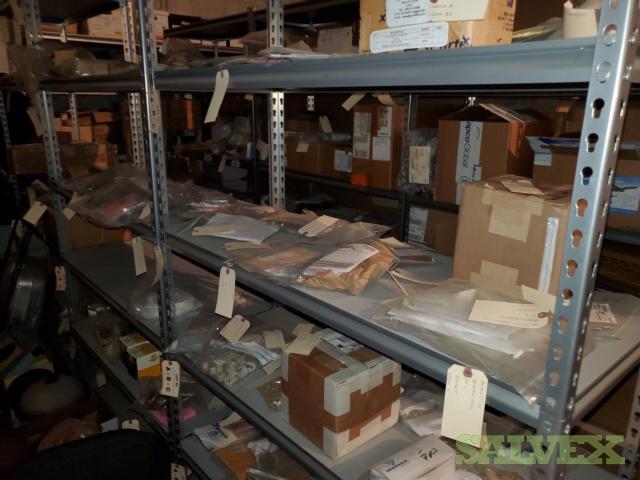 Aircraft Spare Parts: Miniature Lamps, Selectors, Screws, Shims, Bearings (33,093 Items)