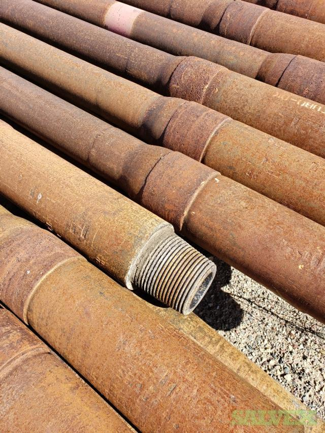 4 1/2 40.5# XH Surplus Drill Pipe (930 Feet / 17 Metric Tons)