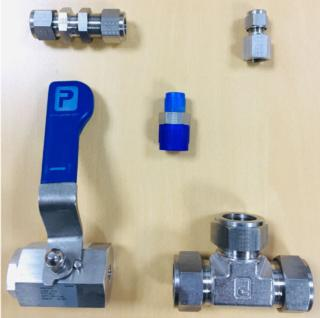Parker A-Lok 8MSC2N-B Brass Compression Tube Fitting Adapter 1//2 Tube OD x 1//8 NPT Male