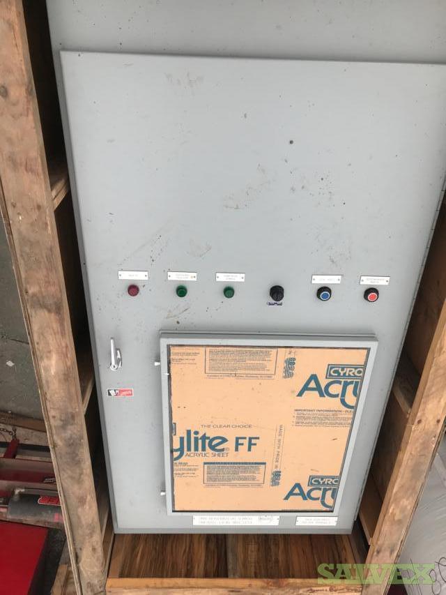3 Phase 60Hz 208-120 Vac Ele. Heat Tracing Panel (2 Units)