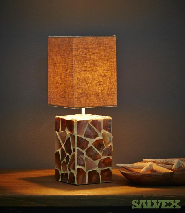 Lamps / Lamp Accessories: Mini Puricatione Horizon with Teak Base, Mini Cream Perla table Lamp, etc.(440 Items) in Tennessee