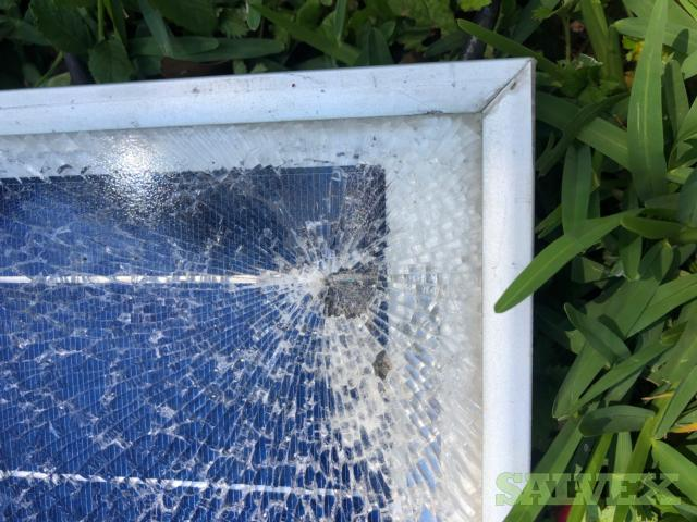 Broken Glass PV Panels - 1,651 Total  Astronergy 305W
