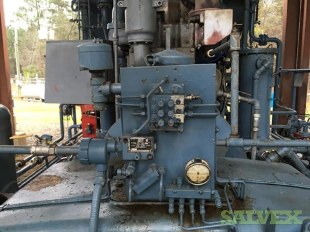 Three Stage Injection Compressor & Two Stage Sour Gas Compressor
