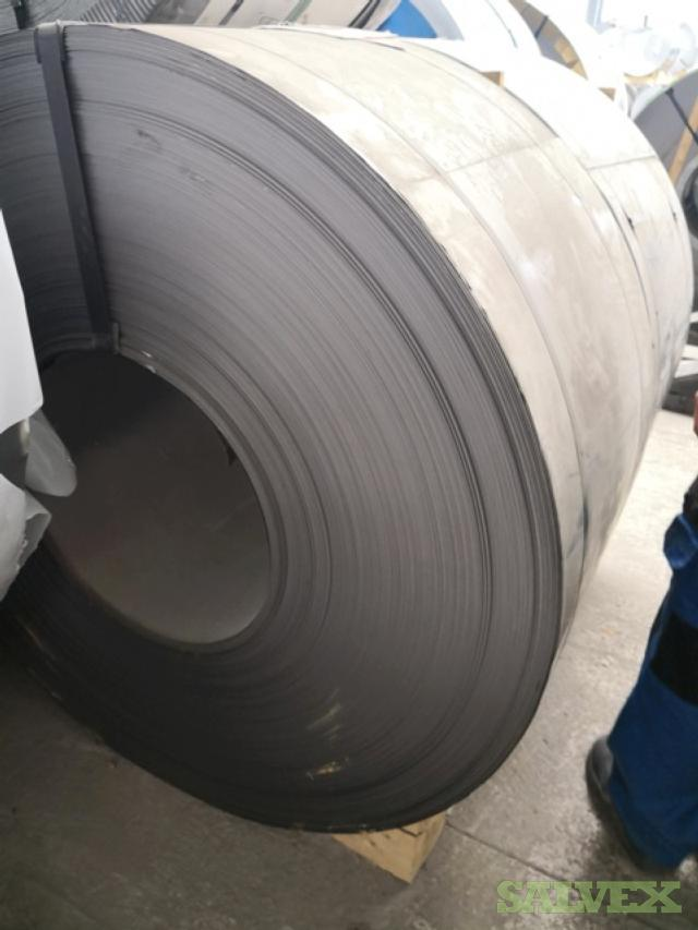 Prime Cold Rolled Steel Coils (6 Units)