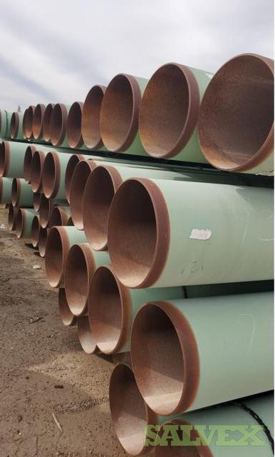 16 .312WT X52 Surplus Line Pipe (56,921 Feet / 1350.86 Metric Tons)