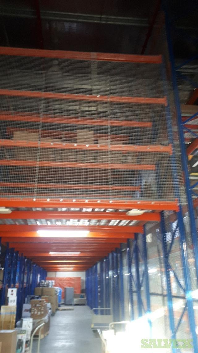Racking System: Medium Heavy Duty (3,543 Cubic Meters)