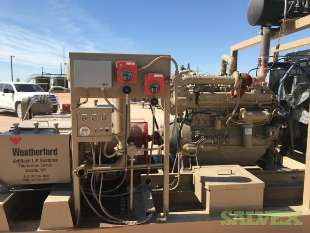 Jet Pump Units with Natural Gas Engines