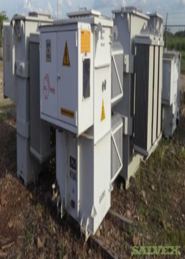 Tesla, ABB and Suntec Transformers