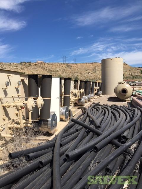 4 DR9 Poly Pipes (8,700 Ft / 11 Metric Tons)