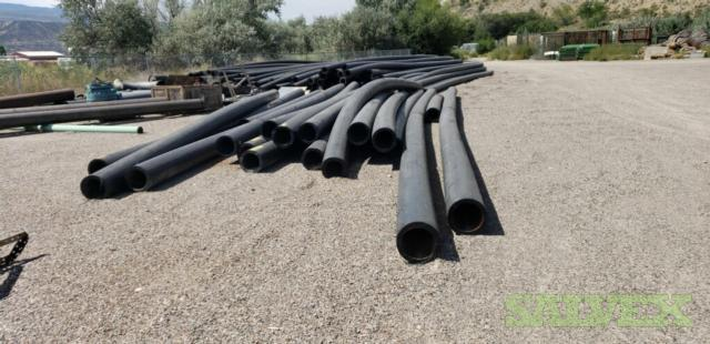 12 DR9 Poly Pipes (2,350 Ft / 23 Metric Tons)