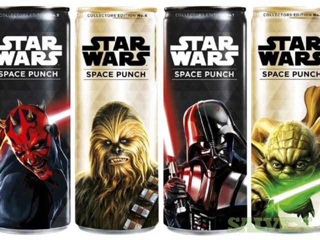 Star Wars Space Punch Sparkling Beverages - Collector Cans (128,700 Cases / 550 Pallets)