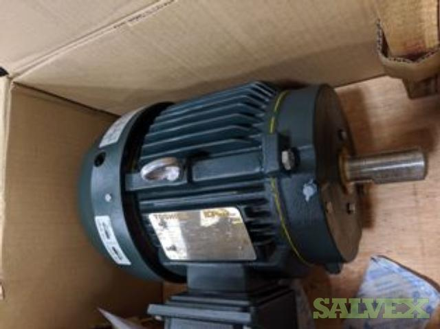 Toshiba EQP Global 841 3 HP Electric Motors (2 Motors)