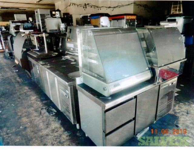 Heavy Duty Kitchen Equipment: Crepe Machines, Grill, Pancake Machine, Mixer, Blender, Waffle Iron, Ice Crusher, Juicer, Meat Slicer /Tenderizer, and many more ( 1 Lot)