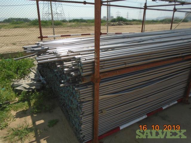 Condenser Titanium Scrap Tubing 0.5mm (3,847 Joints / Approx 10 Tons)