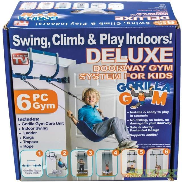 Gorilla Gym - Gym1 Adult and Youth Home Doorway Gym Systems