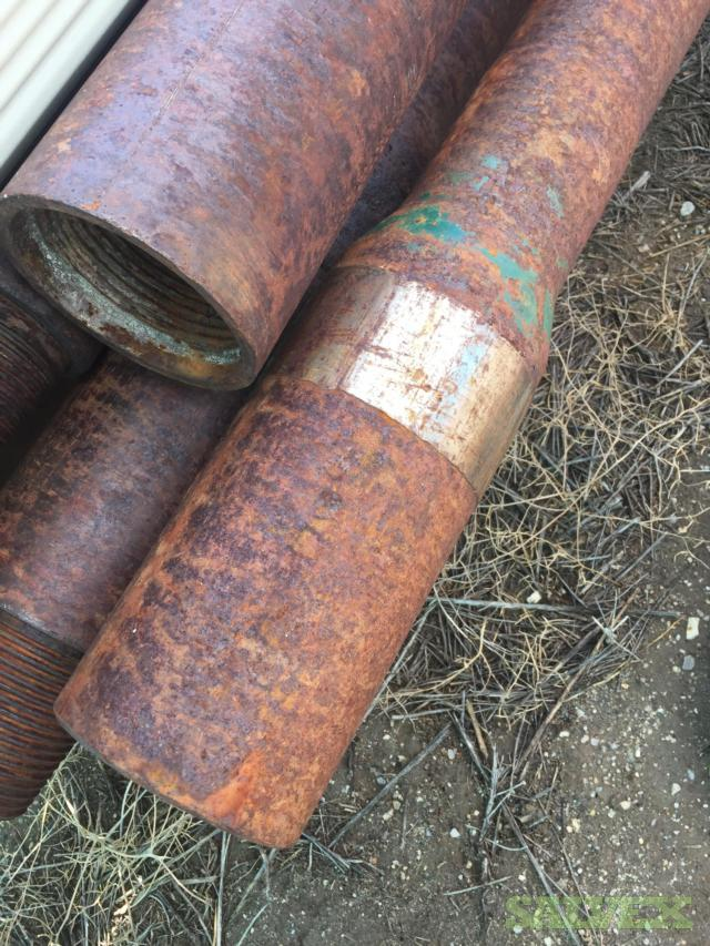 4 1/2 41# Used Drill Pipe (403 Feet / 7 Metric Tons)