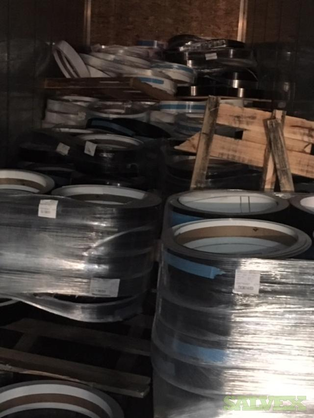 Aluminum 3105 Channel Alloy Coils with Vinyl Coating  (17 Coils / 21,916 Lbs) in Texas