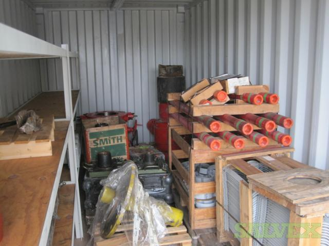 Drilling Completion Equipment:Tubing Pup Joints, Wellhead Running Tool, Nipple, Line Hanger, with 20 ft Container (887 Items)