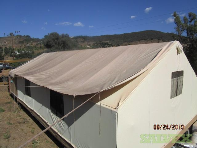 Tent Fabric and Roof/Cover in California
