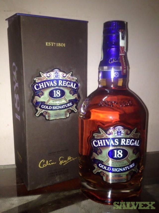 Chivas Regal & Ballantines (22,800 Bottles)