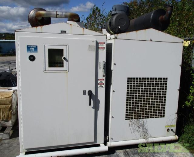 2012 Unico Generators 135Kw (2 Generators, 1 with Transfer Switch)