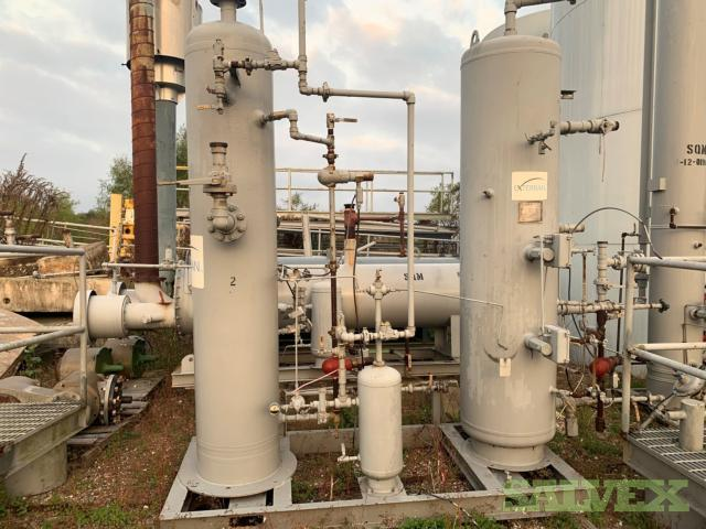 400bbls Steel Tanks, Dehy, Heater Treater, Fuel Gas Skid, Meter Rums, Separator Skid, Flare  Scrubber Skid and Line Heater
