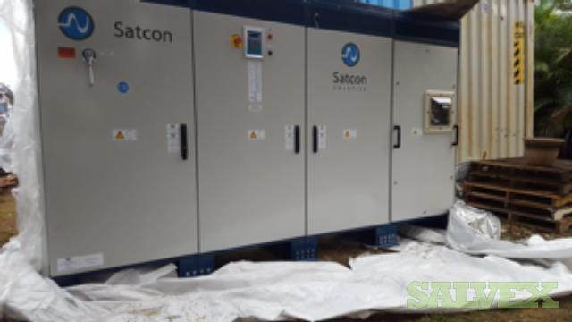 Satcon Inverters and Combiner Boxes