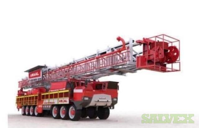 Awaal 1000 HP Truck Mounted Rig Plus Equipment