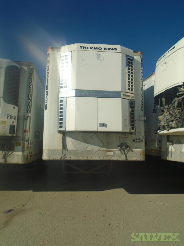 Various Vehicles: Reefer, Trailer, Chassis, etc.
