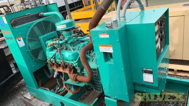 Onan 1993 Model 60ENA 60 KW Gaseous Generator - 1,047 Hours (1 Unit) Florida